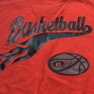 Boys basketball tee
